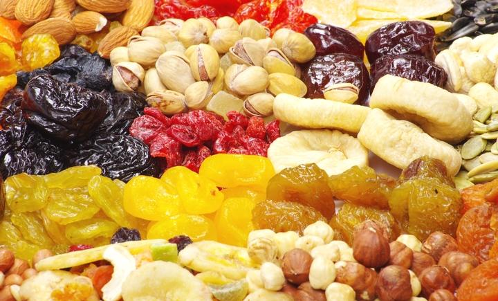 Hoa quả khô có hạn dùng bao lâu